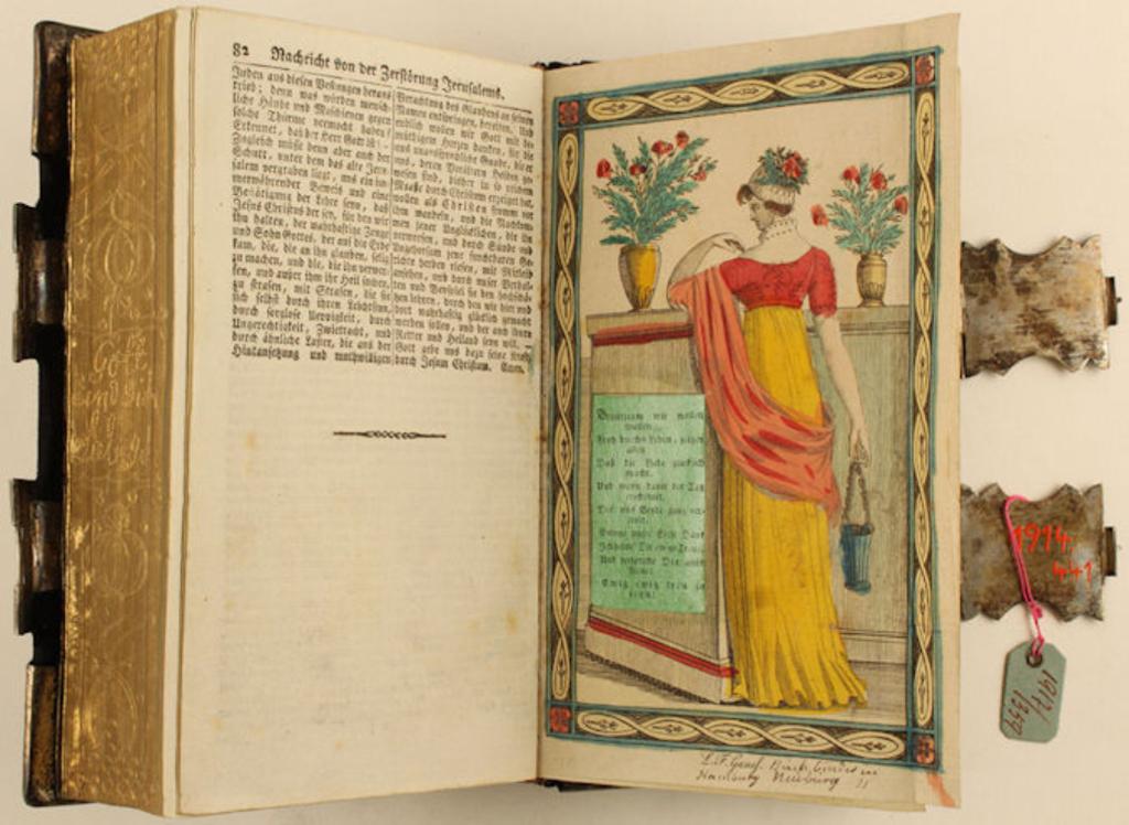 Restauration historischer Bücher der Vier- und Marschlande